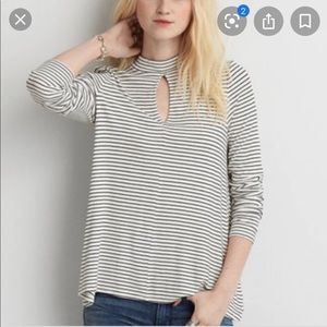 3 for $20 AMERICAN EAGLE ribbed key hole  top